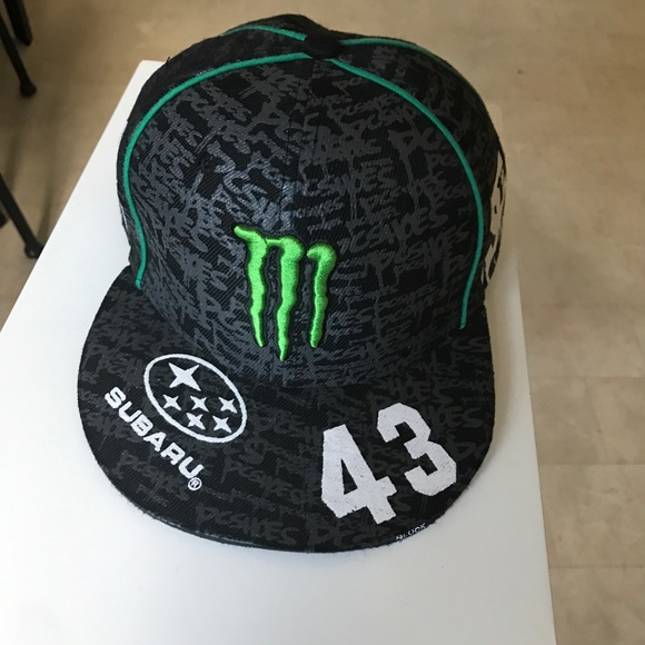 e733ad1c1c9 DC Other - Monster Energy   Subaru   DC Shoes flat brim hat
